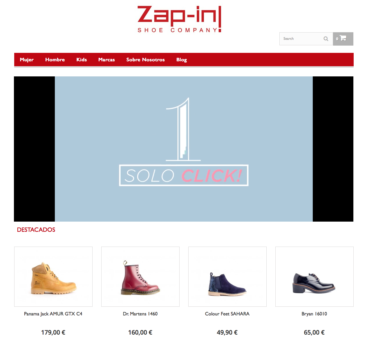 Zap-in! Shoe Company